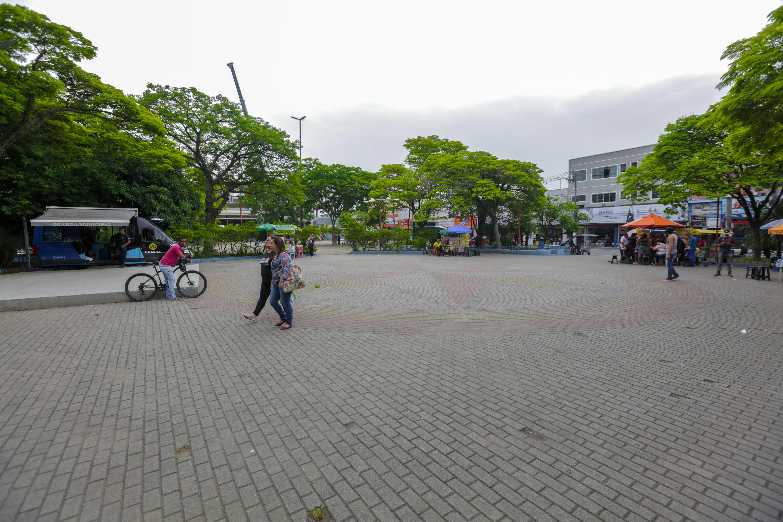 Praça 18 de Fevereiro, no Centro de Itapevi, será reformada - Agência Itapevi