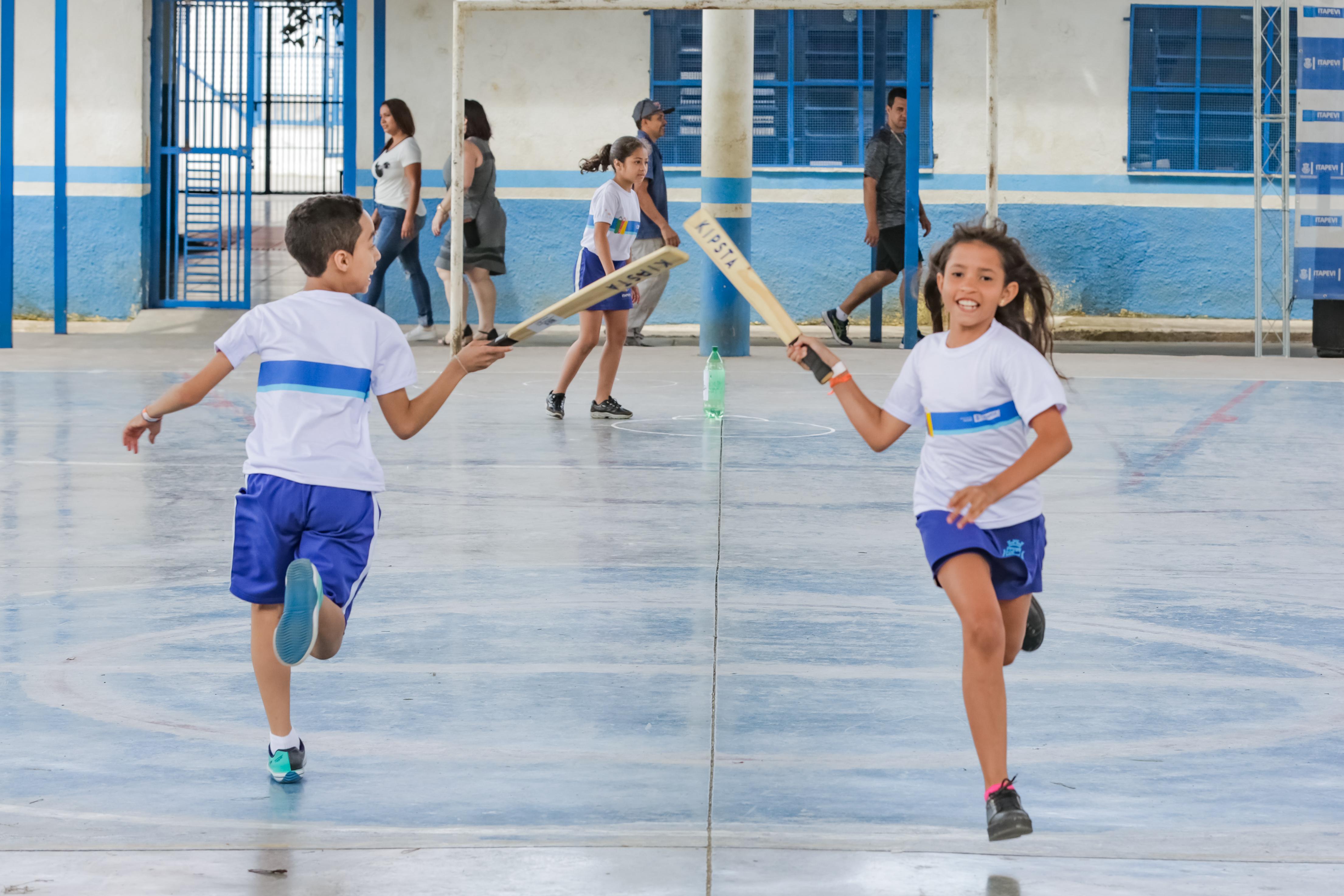 JEI inicia competição de jogo de taco em Itapevi - Agência Itapevi