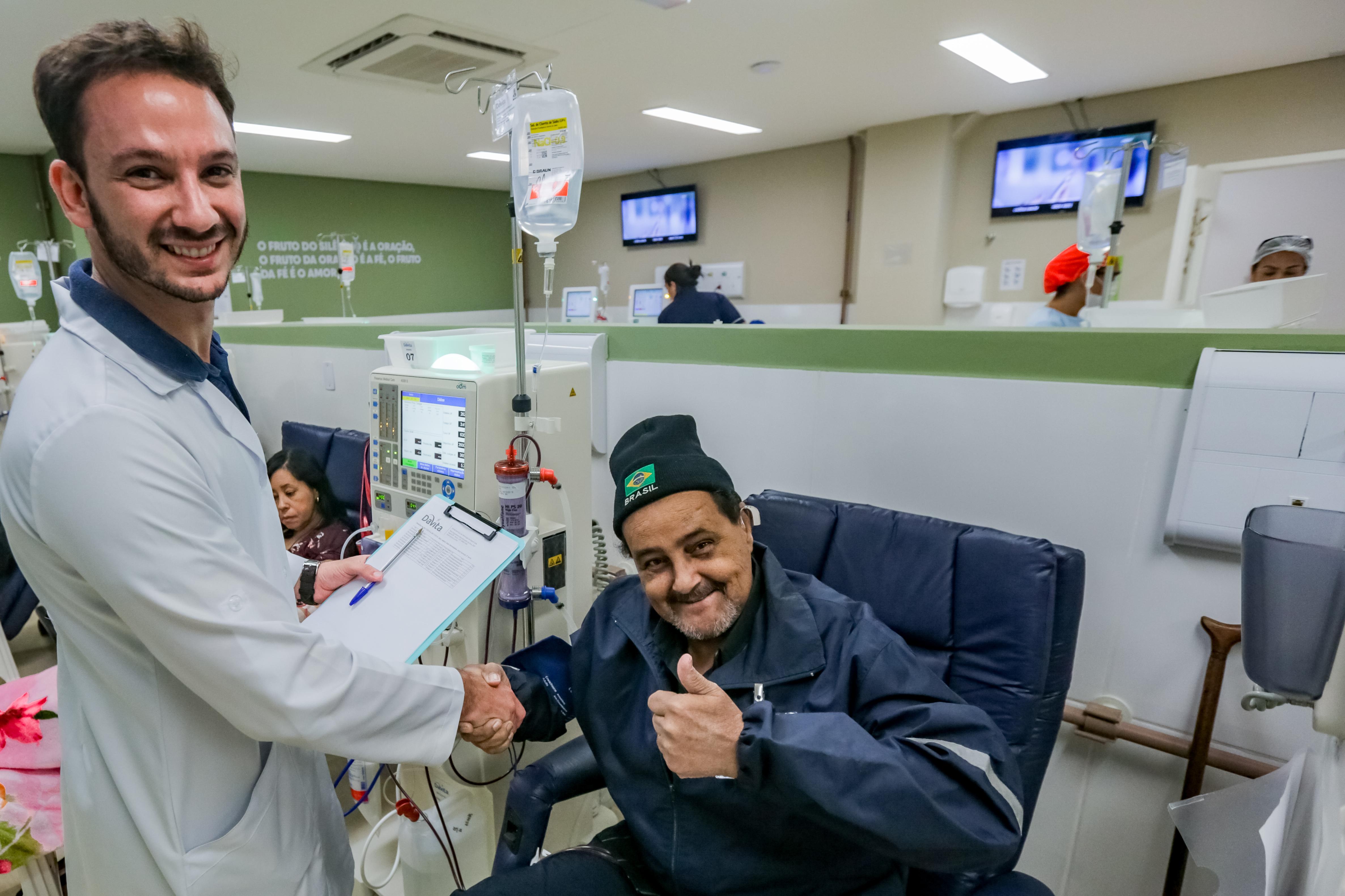 Centro de Hemodiálise completa um mês com aprovação dos pacientes - Agência Itapevi